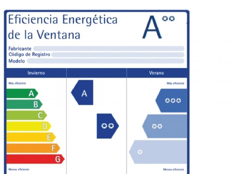 Se publicó la nueva norma de etiquetado de eficiencia energética de ventanas.