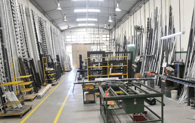 Conocé por dentro nuestra fábrica de aberturas de Aluminio